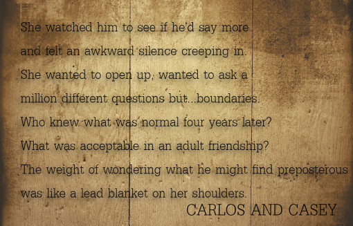 """Carlos & Casey"" -- releasing September 12th with Breathless press"