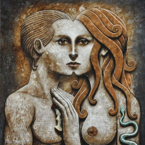 Masculine and feminine energy (Photo Credit: www.ManifestDaily.com]